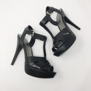 Guess Strappy High Heel Platform